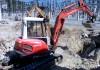 Demolição através de martelos com máquinas *  S/E Vermoim